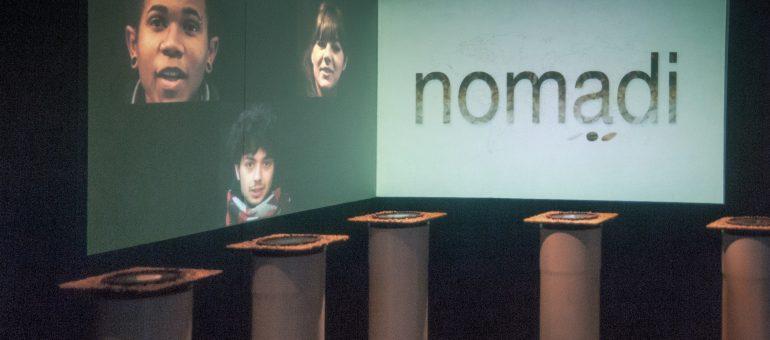 Installazione interattiva NOMADI. Nuove forme di narrazione