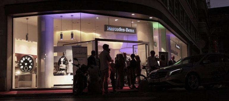 Lancio Classe A – Mercedes